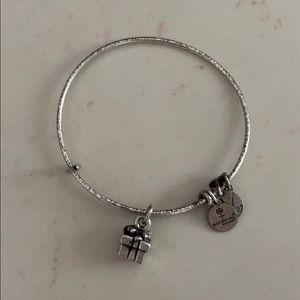 Alex and Ani vintage gift silver bracelet